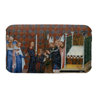 Ms Tiberius B Viii f.58 Coronation of King Charles iPhone 3 Cover