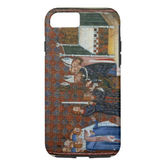 Ms Tiberius B Viii f.58 Coronation of King Charles iPhone 7 Case