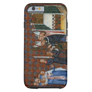 Ms Tiberius B Viii f.58 Coronation of King Charles Tough iPhone 6 Case
