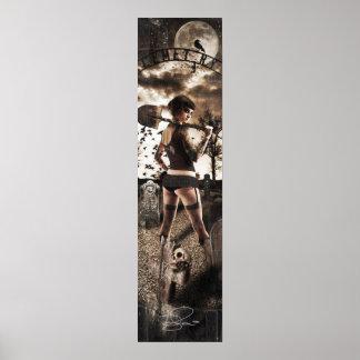 Ms Velouria Graves Poster