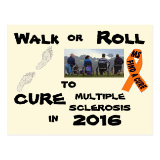 MS Walk or Roll Postcard 2016