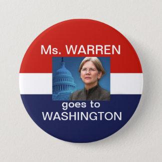 Ms. Warren Goes To Washingtonr Pinback Button