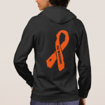 MS WARRIOR/ torn ribbon Hoodie