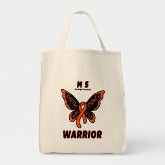 MS WARRIOR/ torn ribbon Tote Bag