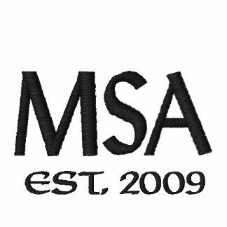 MSA, Est. 2009 Camiseta Polo