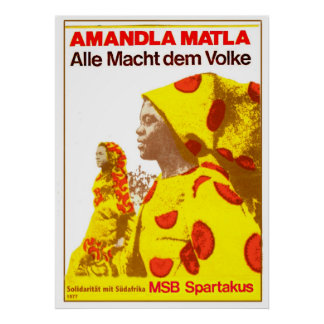 MSB Suráfrica 1977 Posters