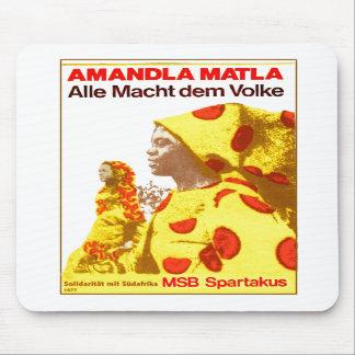MSB Suráfrica 1977 Tapetes De Ratón