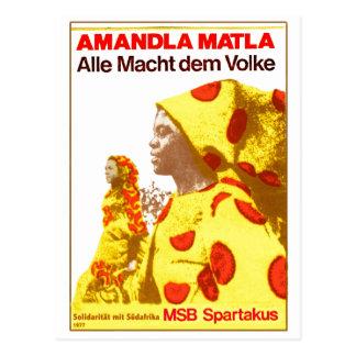MSB Suráfrica 1977 Postales