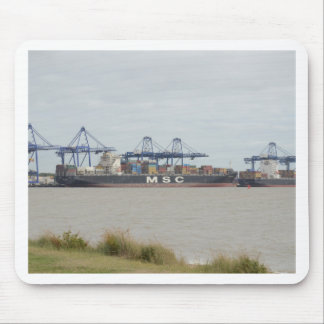 MSC Container Ships Mouse Pad
