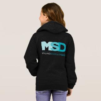 MSD embroma sudadera con capucha