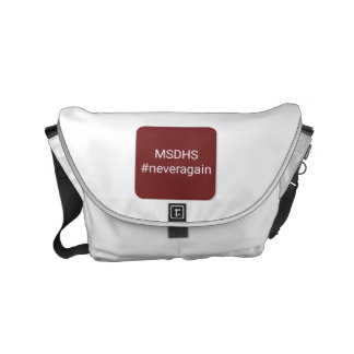 MSD High School messenger bag, msdhs Small Messenger Bag