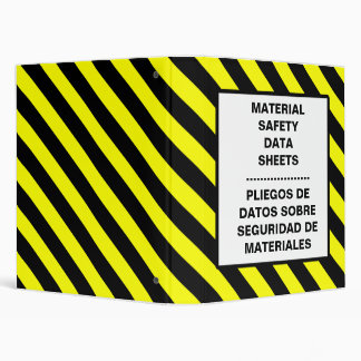 MSDS Sheet Binder