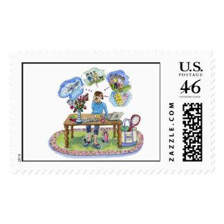 msg Central stamp