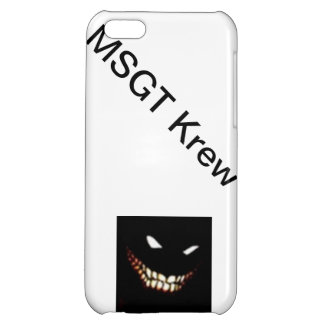 MSGT Krew Iphone5 Case iPhone 5C Cover