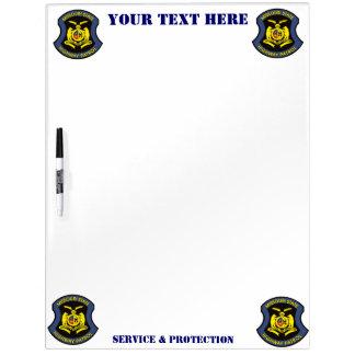 MSHP Dry-Erase BOARD