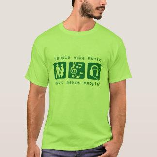 MSI: Music Makes People Green Tee