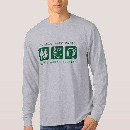 MSI: Music Makes People Long Sleeve Shirt