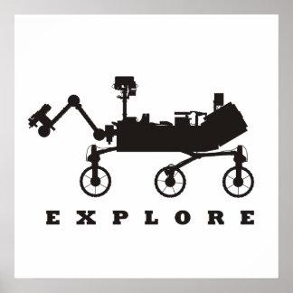 MSL - Explore Póster
