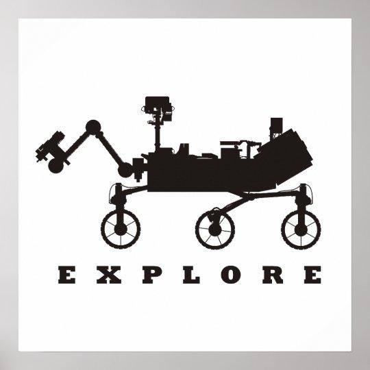 MSL – Explore Poster