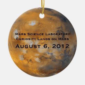 MSL Mars Landing Christmas Ornament