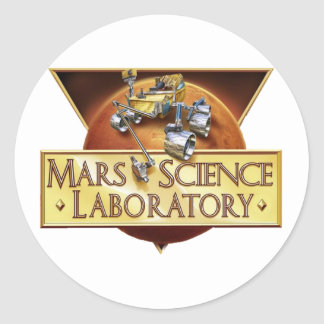 MSL PROGRAM LOGO CLASSIC ROUND STICKER