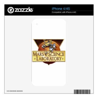 MSL PROGRAM LOGO iPhone 4 SKIN