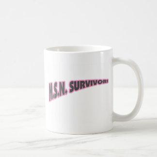 MSN Survivor In Pink Coffee Mug