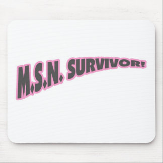 MSN Survivor In Pink Mouse Pad