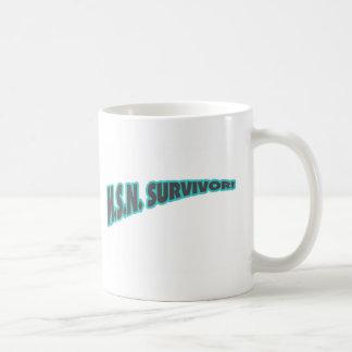 MSN Survivor In Teal Coffee Mug