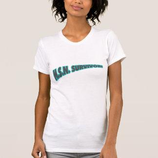 MSN Survivor In Teal T-Shirt
