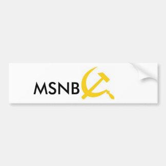 MSNBC PEGATINA PARA AUTO