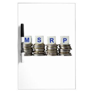 MSRP - Manufacturer's Suggested Retail Price Dry-Erase Board