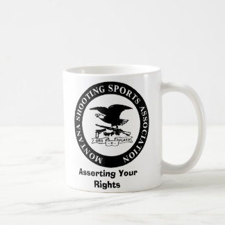 MSSA LOGO, Asserting Your Rights Coffee Mug