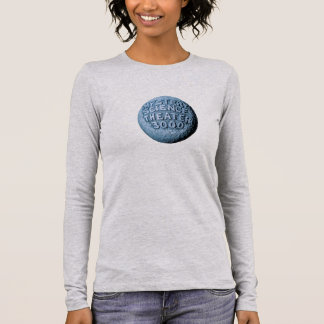 MST3K Moon Long Sleeve T-Shirt (Athletic Heather)