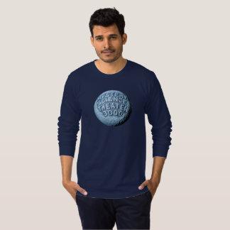 MST3K Moon Long Sleeve T-Shirt (Navy)