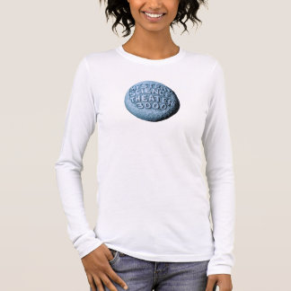MST3K Moon Long Sleeve T-Shirt (White)