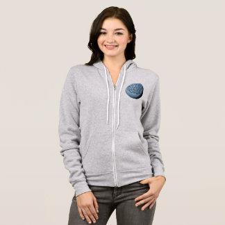 MST3K Moon Zip Hoodie (Athletic Heather)