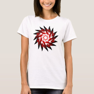 Mstar Red SciFi Twirl T-Shirt