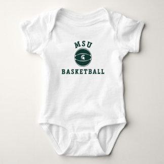 MSU Basketball | Michigan State University 2 Baby Bodysuit