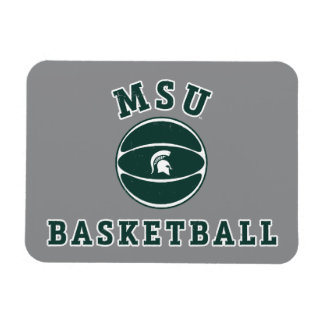 MSU Basketball | Michigan State University 4 Magnet