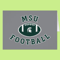 MSU Football | Michigan State University 4 Card