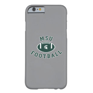newest 542b3 76906 MSU Football | Michigan State University 4 Barely There iPhone 6 Case