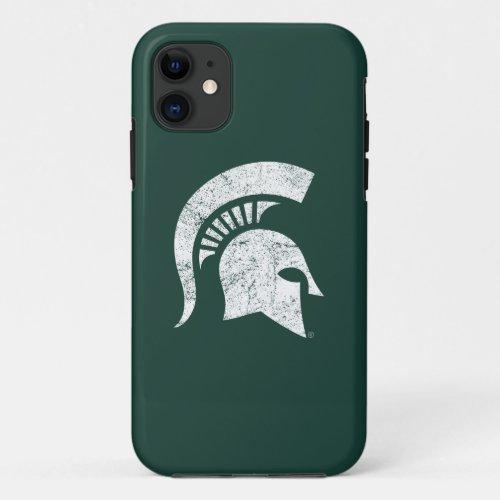 MSU Spartan Distressed Phone Case