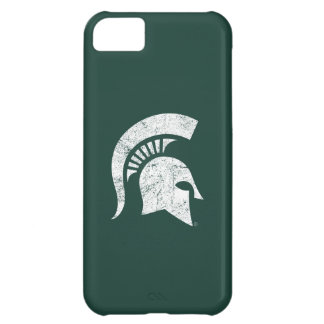 MSU Spartan Distressed Cover For iPhone 5C