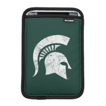 MSU Spartan Distressed Sleeve For iPad Mini