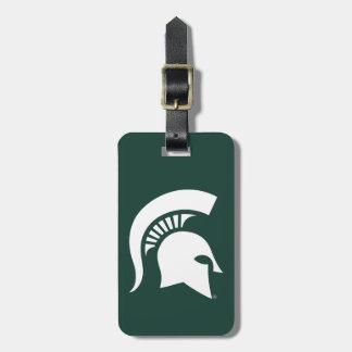 MSU Spartan Luggage Tag