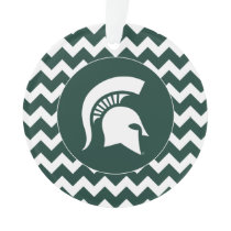 MSU Spartan Ornament