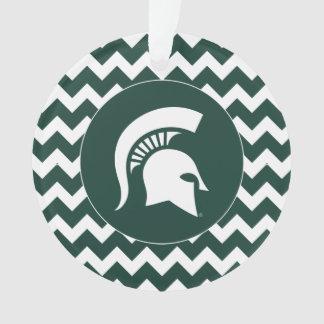 MSU Spartan Ornament