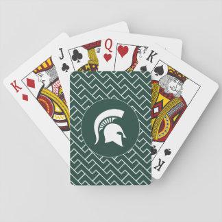 MSU Spartan Playing Cards