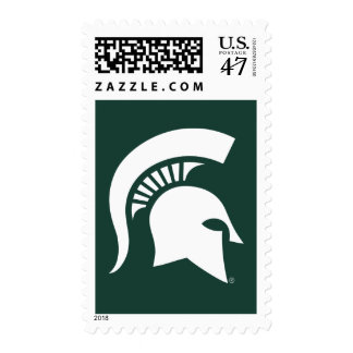 MSU Spartan Postage Stamp